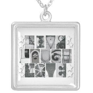 Letter Photography Live Laugh Love Necklace