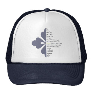 Letter Picture Trucker Hat