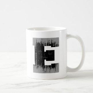 LETTER PRIDE E VINTAGE.png Classic White Coffee Mug
