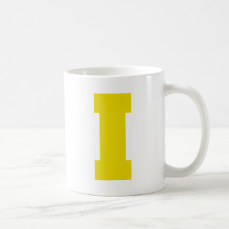 Letter Pride I Yellow.png Classic White Coffee Mug