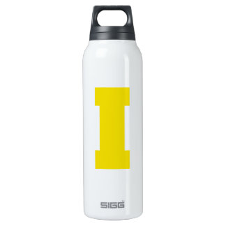Letter Pride I Yellow.png 16 Oz Insulated SIGG Thermos Water Bottle
