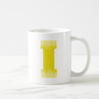 LETTER PRIDE I YELLOW VINTAGE.png Classic White Coffee Mug