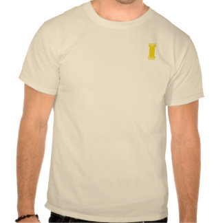 LETTER PRIDE I YELLOW VINTAGE.png Tshirt
