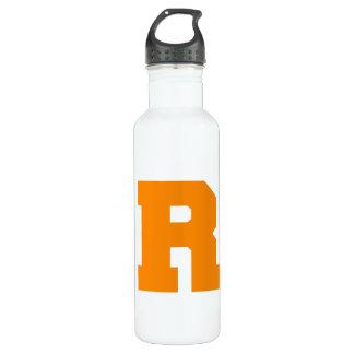 Letter Pride R Orange.png 24oz Water Bottle