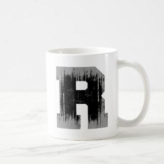 LETTER PRIDE R VINTAGE.png Classic White Coffee Mug