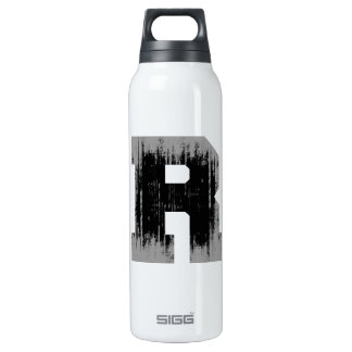 LETTER PRIDE R VINTAGE.png 16 Oz Insulated SIGG Thermos Water Bottle
