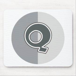Letter Q Mouse Pad