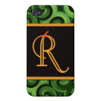 LETTER R 4  iPhone 4/4S COVERS