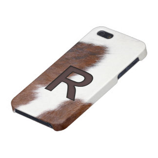 Letter R Brand Cowhide Livestock Iphone 5 Case