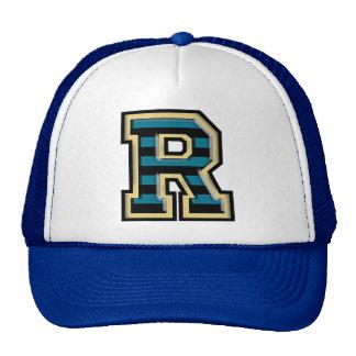 "Letter ""R"" Initial Trucker Hat"