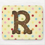 Letter R Mousepad