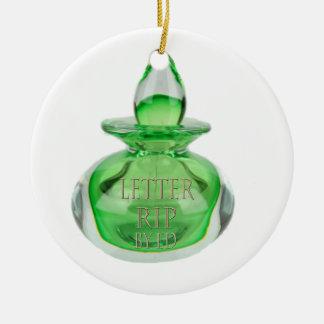 Letter Rip Ceramic Ornament