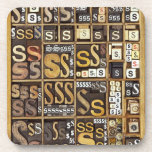 Letter S Coasters