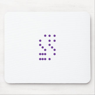 Letter S Dice Mouse Pad