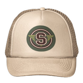 """Letter """"S"""" Trucker Hat"""