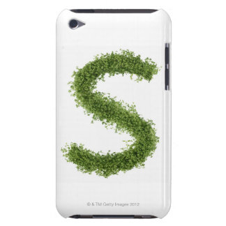 Letter 'S' in cress on white background, iPod Touch Case-Mate Case
