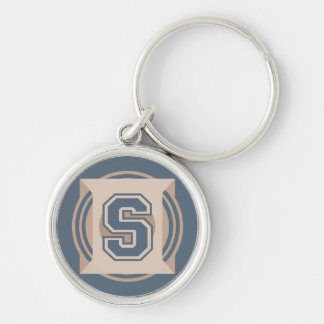 "Letter ""S"" Initial Keychain"