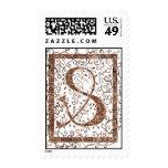 letter S monogram Stamp