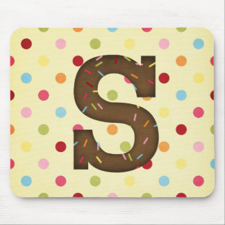 Letter S Mouse Pad