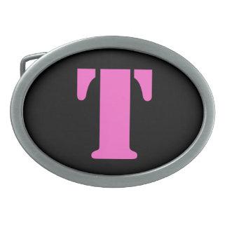 Letter T Belt Buckle