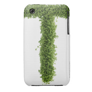 Letter 'T' in cress on white background, iPhone 3 Case-Mate Case