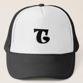 Letter T_large Trucker Hat