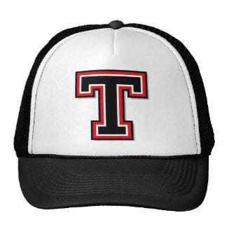 """Letter """"T"""" Monogram Trucker Hat"""