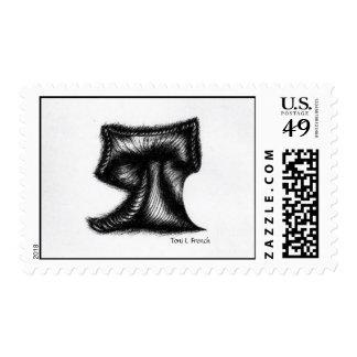 """Letter T"" Stamp"