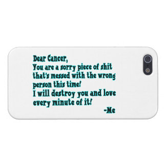 Letter To Cancer Cover For iPhone SE/5/5s
