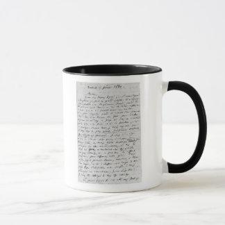 Letter to Richard Wagner  17th February 1860 Mug