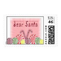 Letter to Santa Christmas stamp