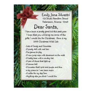 Letter to Santa, Create it Online! Letterhead