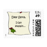 Letter to Santa Stamps