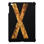 Letter Typo X iPad Mini Covers