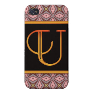 LETTER U 4  iPhone 4/4S COVERS