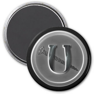 Letter U and a Screw 11 Magnet