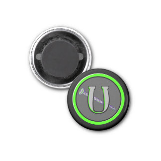 Letter U and a Screw 12 Magnet