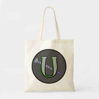 Letter U and a Screw 9 Tote Bag