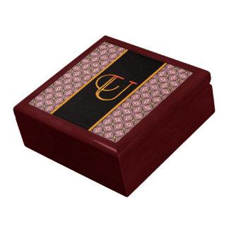 LETTER U Keepsake Box