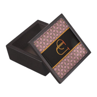 LETTER U Trinket Box Premium Keepsake Box