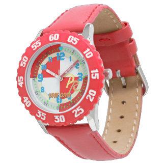 Letter U Uniform Nautical Alphabet Watersport Kids Wrist Watch
