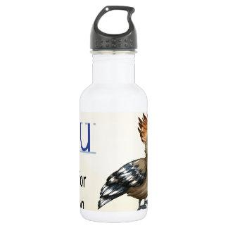Letter U Water Bottle
