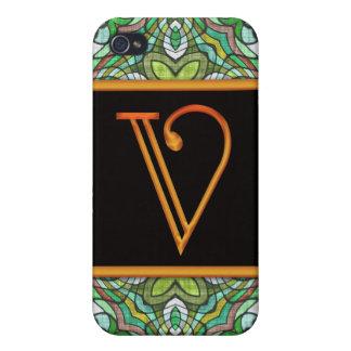 LETTER V 4  iPhone 4/4S CASE