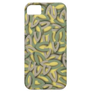 Letter V Green iPhone SE/5/5s Case