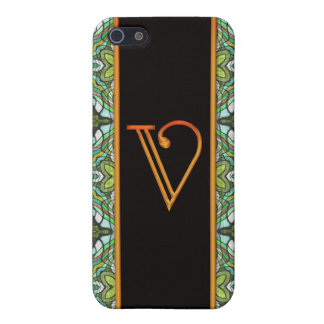 LETTER V iPhone SE/5/5s CASE