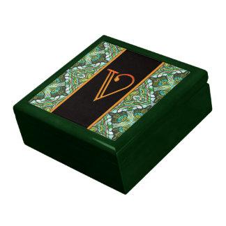 LETTER V Keepsake Box