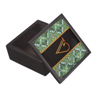 LETTER V Trinket Box Premium Jewelry Box