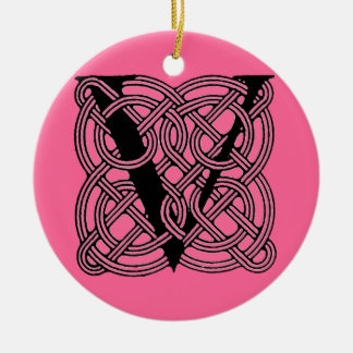 Celtic Letter Ornaments & Keepsake Ornaments | Zazzle