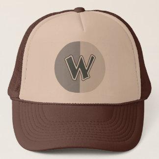 Letter W Trucker Hat