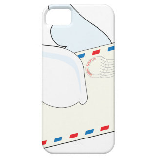 Letter with Wings iPhone SE/5/5s Case